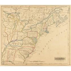 1841 - Carte géographique...