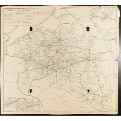 1910 - Carte des chemins de...
