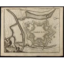 XVIIIe - Plan ancien de...