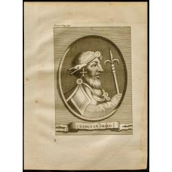 1749 - Portrait de Canut le...