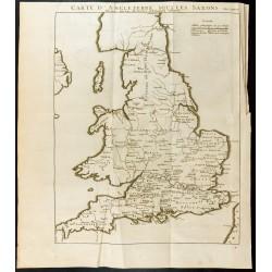 1749 - Carte d'Angleterre...