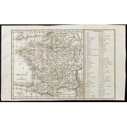1830ca - Carte ancienne de...