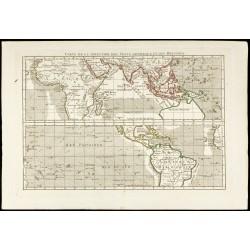 1781 - Carte des vents...