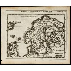 1723 - Carte ancienne de la...