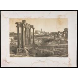 1874 - Lithographie du...
