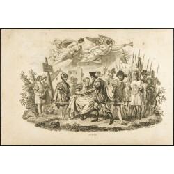 1825 - Gravure du Duc de...