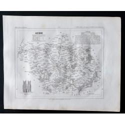1833 - Département de l'Aube
