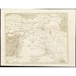 1852 - Carte historique du...