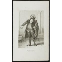 Portrait en pied de Mirabeau