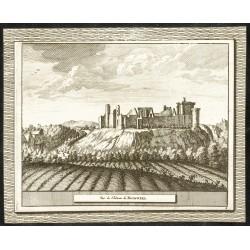 1707 - Vue du château de...
