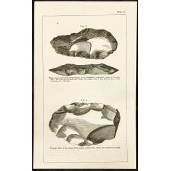 1873 - Gravure de pierres...