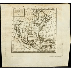 1823 - Carte ancienne de...