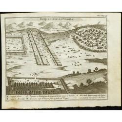 1763 - Vue des camps de...