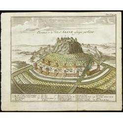 1763 - Vue du siège d'Alesia