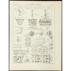 1892 - Mécanique du tramway...