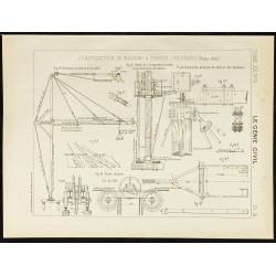 1891 - Plan ancien d'une...