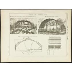 1891 - Plan ancien dépôt de...