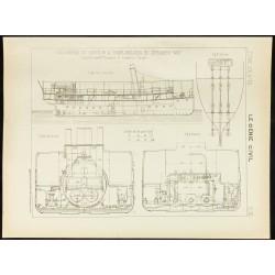 1892 - Plan ancien d'un...