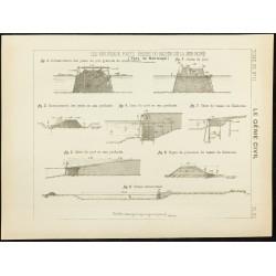 1892 - Plan du port de...