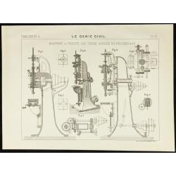 1890 - Machine à percer les...