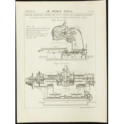 1890 - Machine à mortaiser...