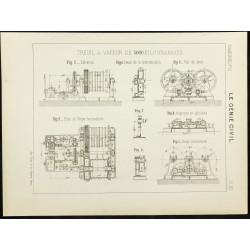 1891 - Plan ancien d'un...