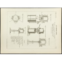 1891 - Plan ancien de fours...