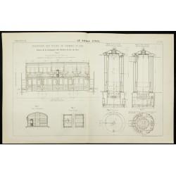 1892 - Chauffage des trains...