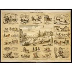 1853 - Les moyens de...