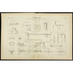 1892 - Plan d'appareils de...