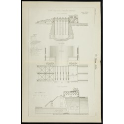 1888 - Plan ancien d'un...
