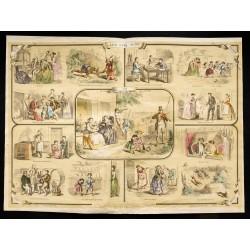 1853 - Les cinq sens...