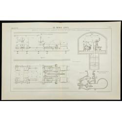 1888 - Plan d'une Machine...