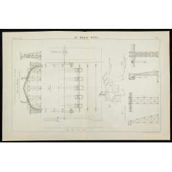 1888 - Plan ancien de la...