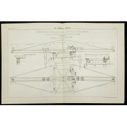 1888 - Plan ancien d'une...