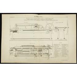 1891 - Machine de 50 tonnes...