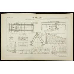 1891 - Pont tournant sur le...