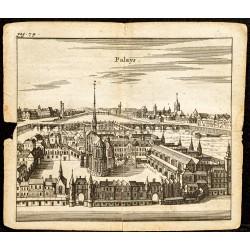 1661 - Palais de la cité et...
