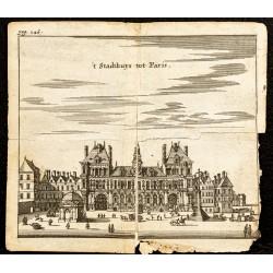 1661 - Hôtel de ville de Paris