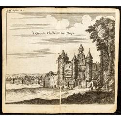 1661 - Vue du Grand Châtelet