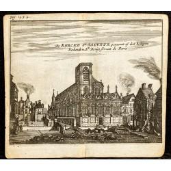 1661 - Vue de l'église...