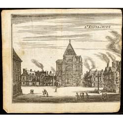 1661 - Façade de l'église...