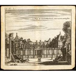 1661 - Vue de l'Hôtel de...