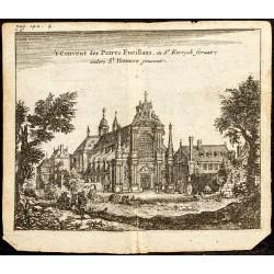 1661 - Vue du Couvent des...