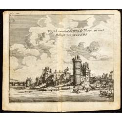 1661 - Vue de la Tour de Nesle