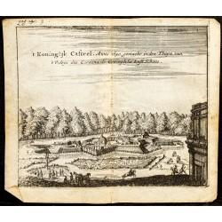 1661 - Vue du jardin du...