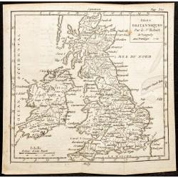 1750 - Carte des îles...