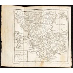 1750 - Carte de la Turquie...