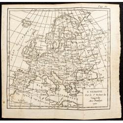 1750 - Carte de l'Europe