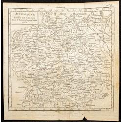 1750 - Carte de l'Allemagne